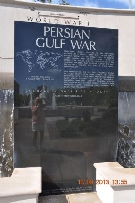 Persian Gulf War image. Click for full size.