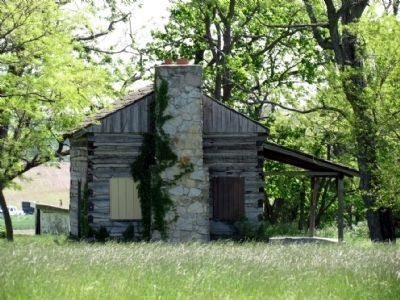 Underground Railroad Station Cabin image. Click for full size.