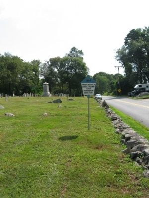 Wequetequock Burial Ground Marker image. Click for full size.