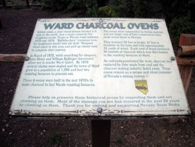 Ward Charcoal Ovens Marker image. Click for full size.