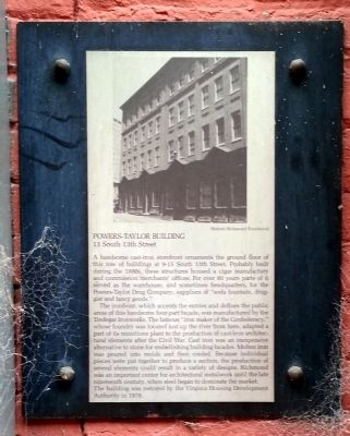 Powers-Taylor Building Marker image. Click for full size.