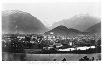 Interlaken and the Jungfrau image. Click for full size.