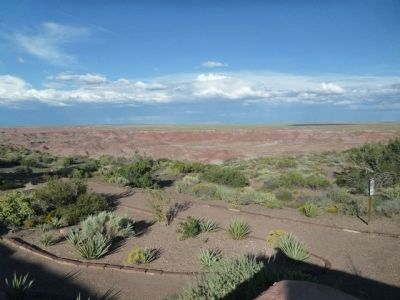 View of Painted Desert image. Click for full size.