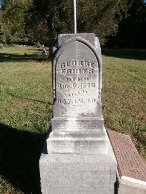 Other View - - Oldest Surviving Veteran of American Revolution Marker image. Click for full size.