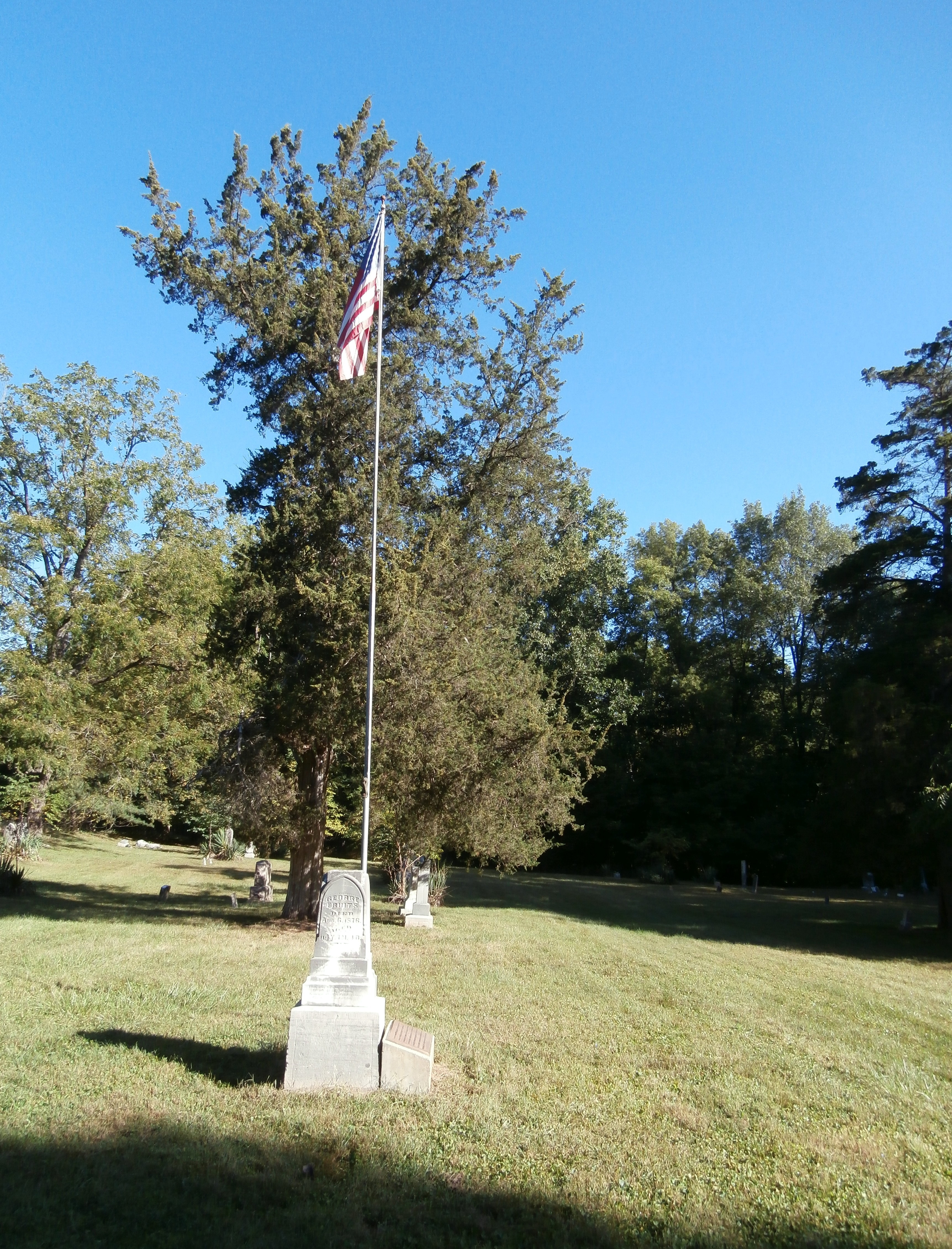 Long View - - Oldest Surviving Veteran of American Revolution Marker