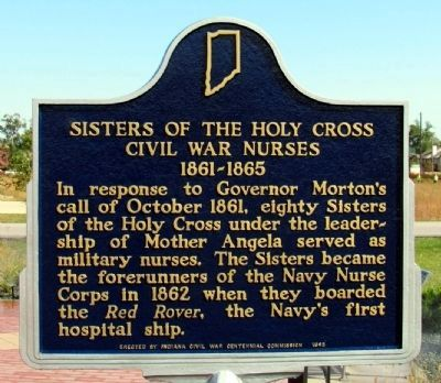 Sisters of the Holy Cross Marker image. Click for full size.