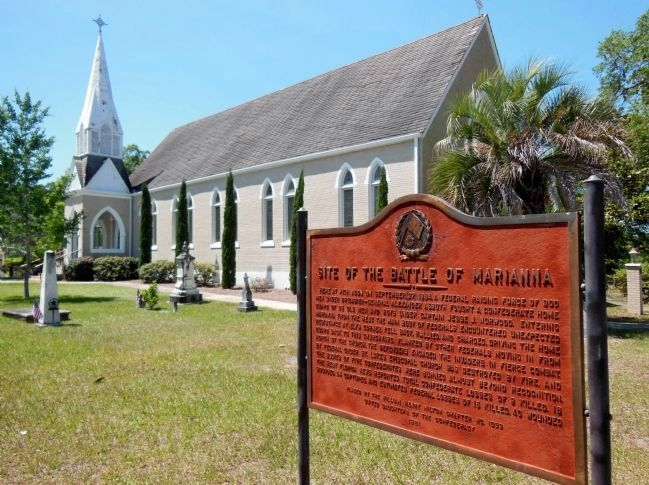 St. Luke's Episcopal Church (in the background) image. Click for full size.