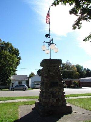 First Rural Free Delivery Carriers Monument image. Click for full size.