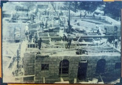 Garrett County Courthouse <br>under construction image. Click for full size.