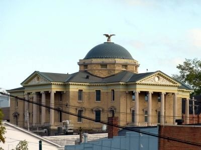 Garrett County Courthouse image. Click for full size.