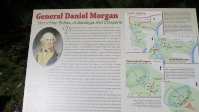 General Daniel Morgan Marker image. Click for full size.