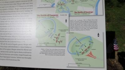The Battle of Cowpens - additional detail image. Click for full size.
