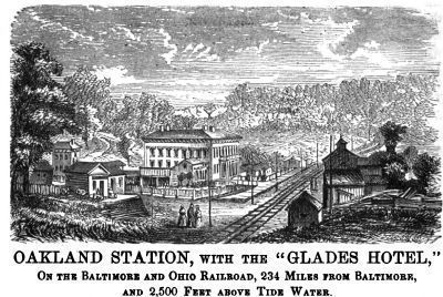 Oakland Station & The Glades Hotel image. Click for full size.