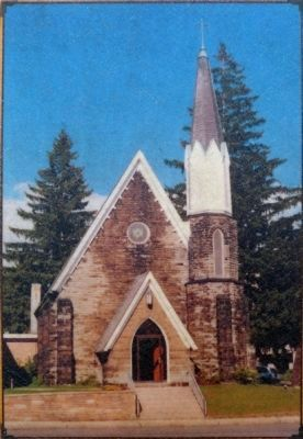"Garrett Memorial Church <br>""The Church of the Presidents"" image. Click for full size."