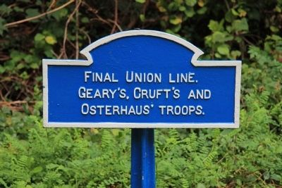 Final Union Line Marker image. Click for full size.