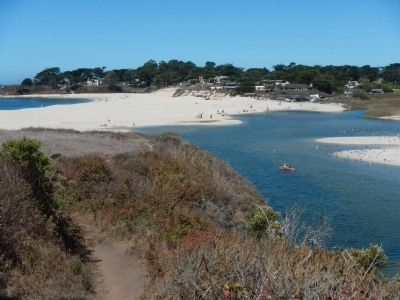Carmel River State Beach image. Click for full size.