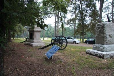 Battery M, 4th U.S. Artillery Marker image. Click for full size.
