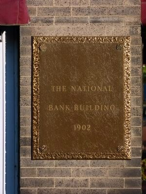The National Bank Building<br>1902 image. Click for full size.