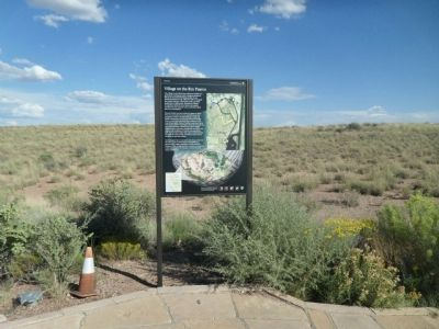Village on the Rio Puerco Marker image. Click for full size.