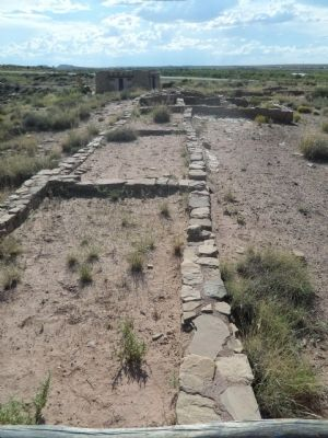 Village on the Rio Puerco Ruins image. Click for full size.
