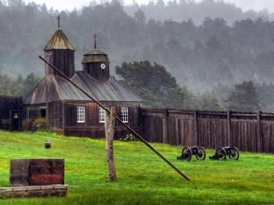 Fort Ross - Chapel image. Click for full size.