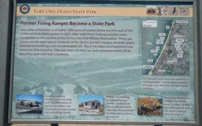 Former Firing Range Becomes a State Park Marker image. Click for full size.