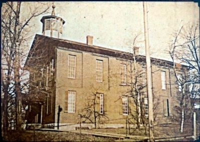 The First Garrett County Courthouse image. Click for full size.