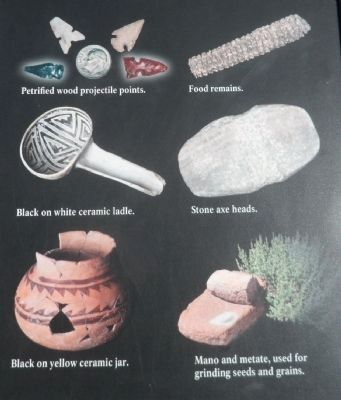 Artifacts Found at the Site image. Click for full size.