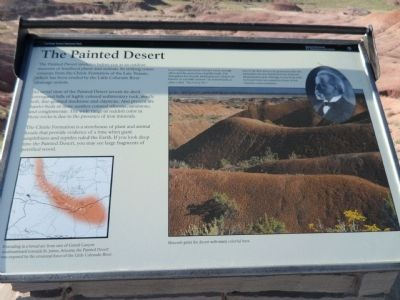 The Painted Desert Marker image. Click for full size.