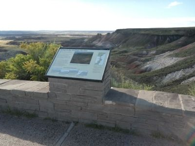 A Gap in the Geologic Record Marker image. Click for full size.