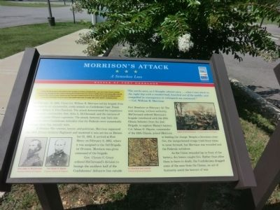 Morrison's Attack Marker image. Click for full size.