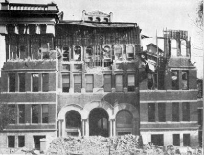 San Jose High School destroyed by the 1906 San Francisco Earthquake image. Click for full size.