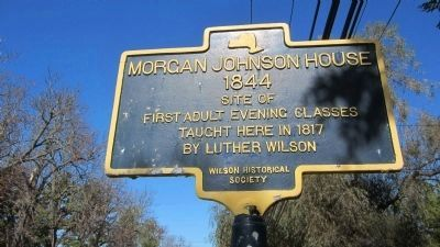 Morgan Johnson House image. Click for full size.