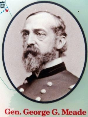 General George G. Meade image. Click for full size.