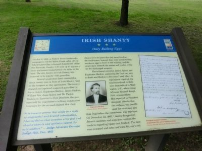 Irish Shanty Marker image. Click for full size.