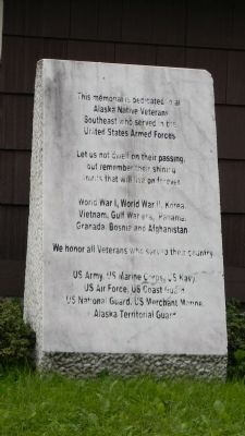 Alaska Territorial Guard Memorial Marker image. Click for full size.