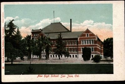 San Jose High School image. Click for full size.