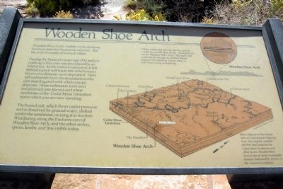 Wooden Shoe Arch Marker image. Click for full size.