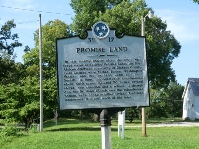 Promise Land Marker image. Click for full size.