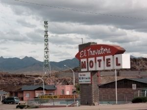 El Trovatore Motel Marker Site image. Click for full size.