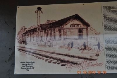 Original Red Bay Depot image. Click for full size.