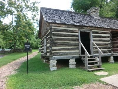 Belle Meade slave quarters building image. Click for full size.