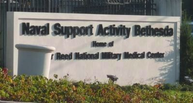 Naval Support Activity Bethesda - Home of Walter Reed National Military Medical Center image. Click for full size.