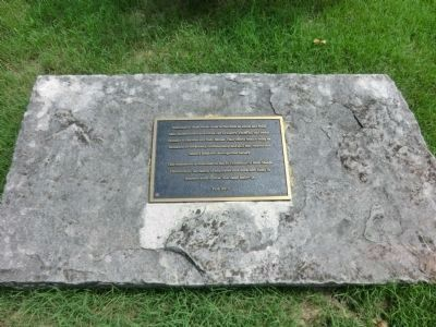 Belle Meade Plantation Bicentennial Plaque image. Click for full size.