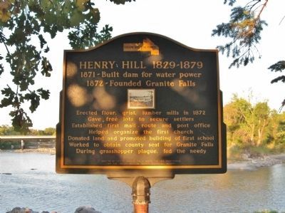 Henry Hill 1829-1879 Marker image. Click for full size.