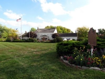 Sauder Village Welcome Center image. Click for full size.