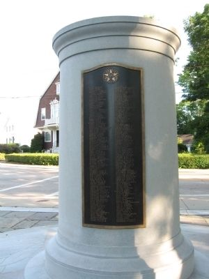 Westerly World War Memorial 1917 – 1918 image. Click for full size.