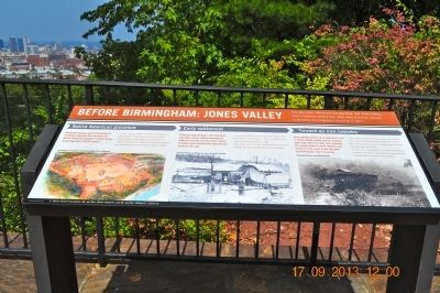 Before Birmingham: Jones Valley Marker image. Click for full size.