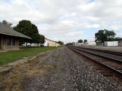 Norfolk Southern Railroad Tracks image. Click for full size.