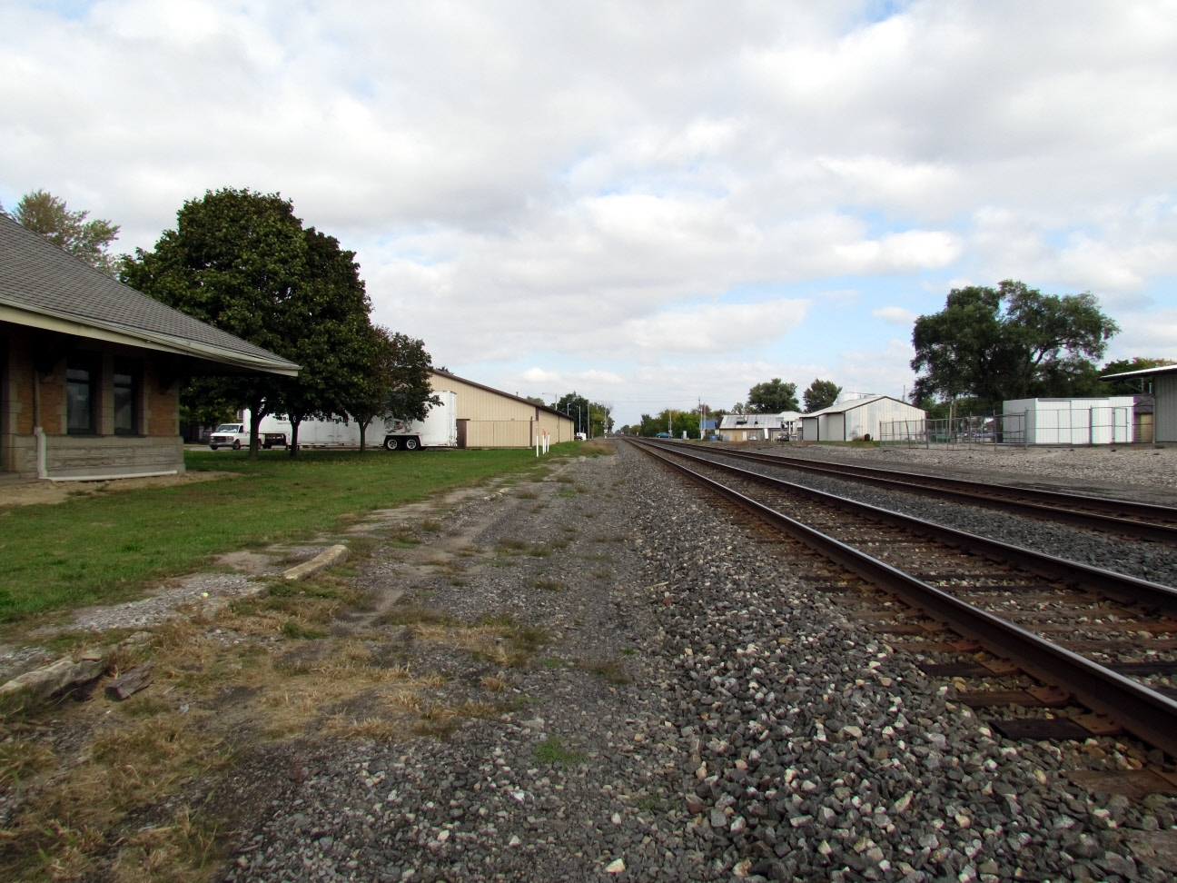 Norfolk Southern Railroad Tracks